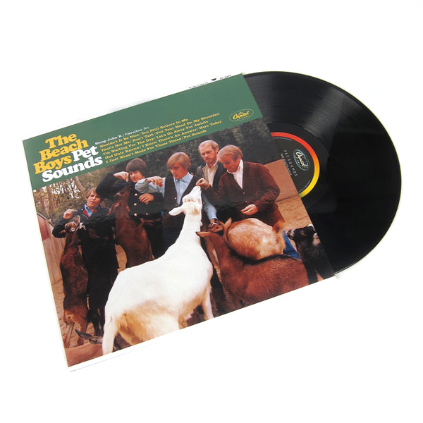 The Beach Boys: Pet Sounds (200g, Mono) Vinyl 2LP