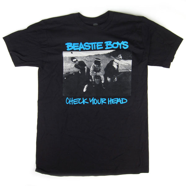 Beastie Boys: Check Your Head Shirt - Black / Blue