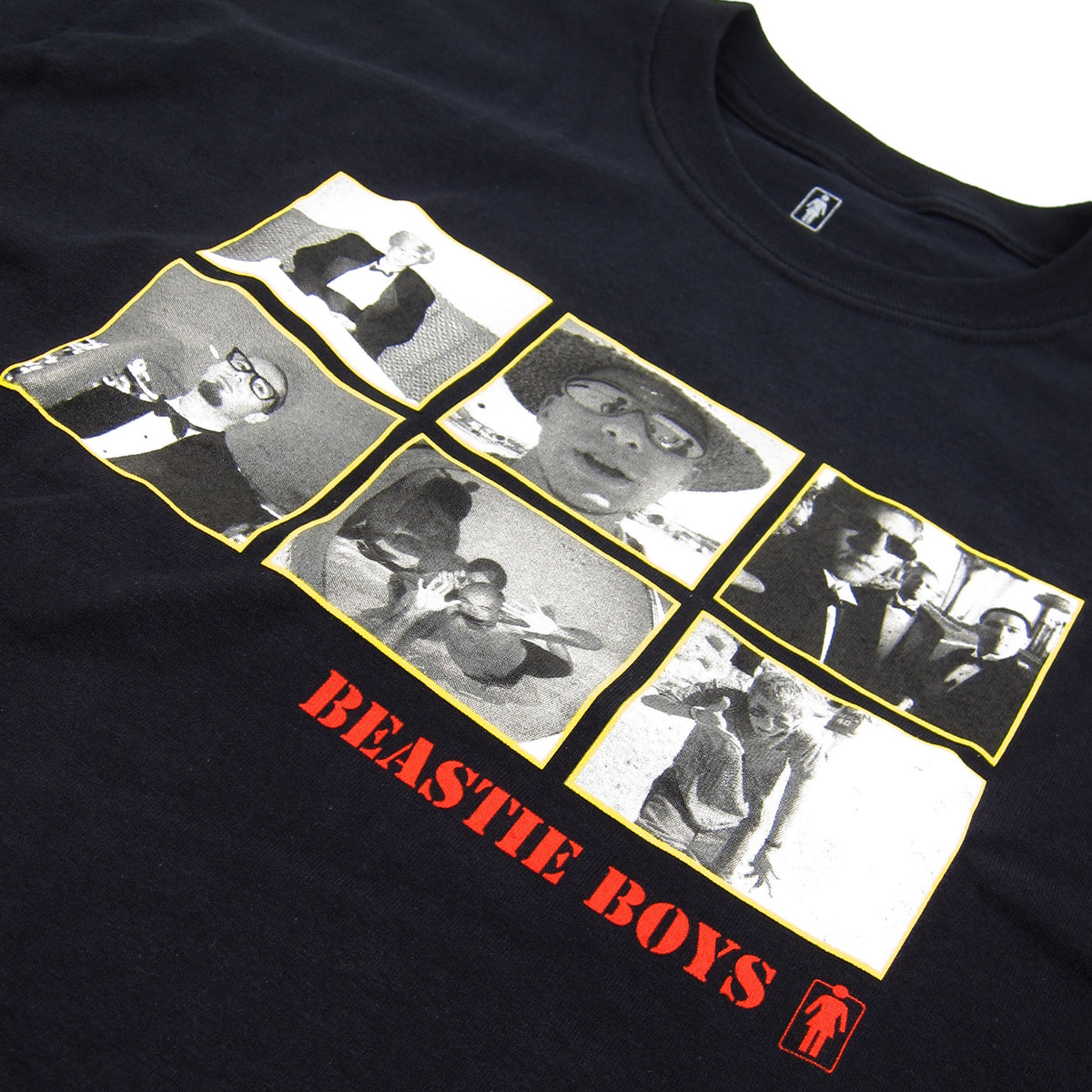 Beastie Boys: Sure Shot Longsleeve Shirt By Girl Skateboards / Spike Jonze - Black