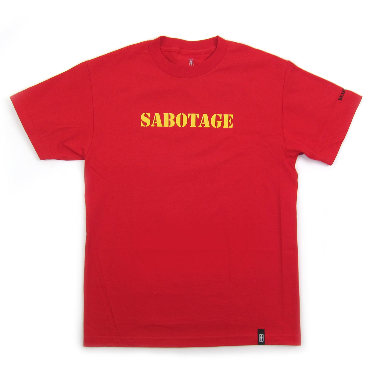 Beastie Boys: Sabotage Shirt By Girl Skateboards / Spike Jonze - Red