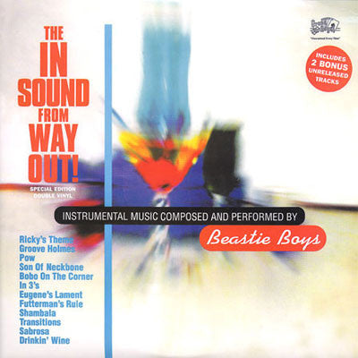 The Beastie Boys : The In Sound From Way Out! 2LP