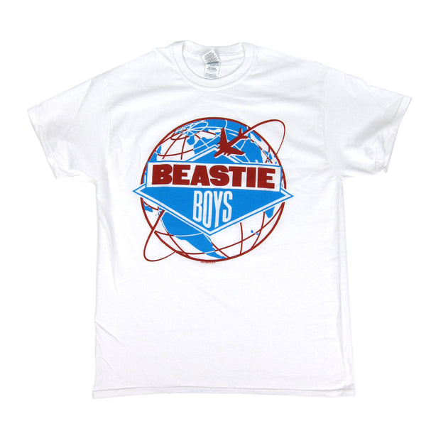 Beastie Boys: Around The World Shirt - White