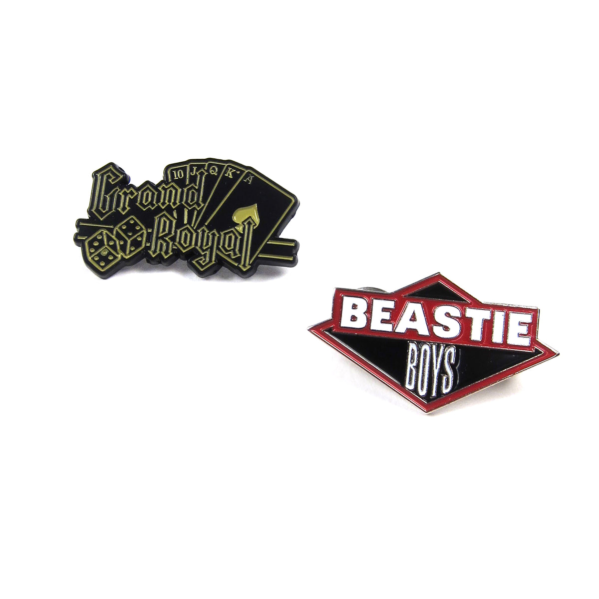 Beastie Boys: Enamel Pin Pack (Classic Logo, Grand Royal)
