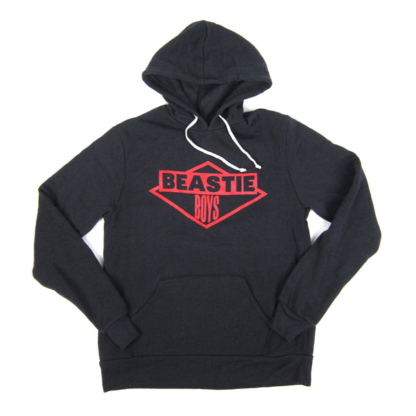 Beastie Boys: Red Ink Logo Hoodie - Black