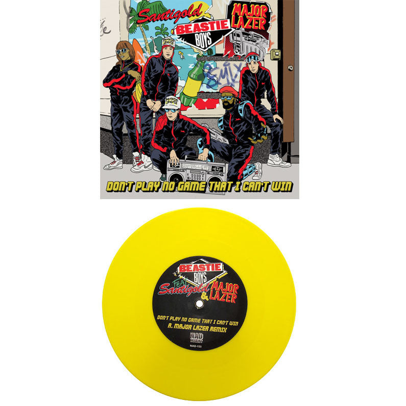 Beastie Boys: Don't Play No Game (Major Lazer, Colored Viny) 7""