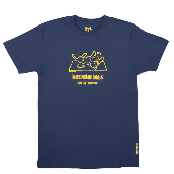 Turntable Lab: TTL x Beastie Boys Body Movin Shirt - Navy