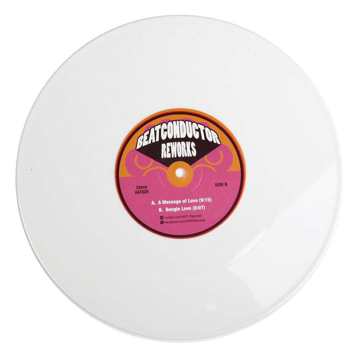 Beatconductor : A Message Of Love (White Vinyl) Vinyl 10""