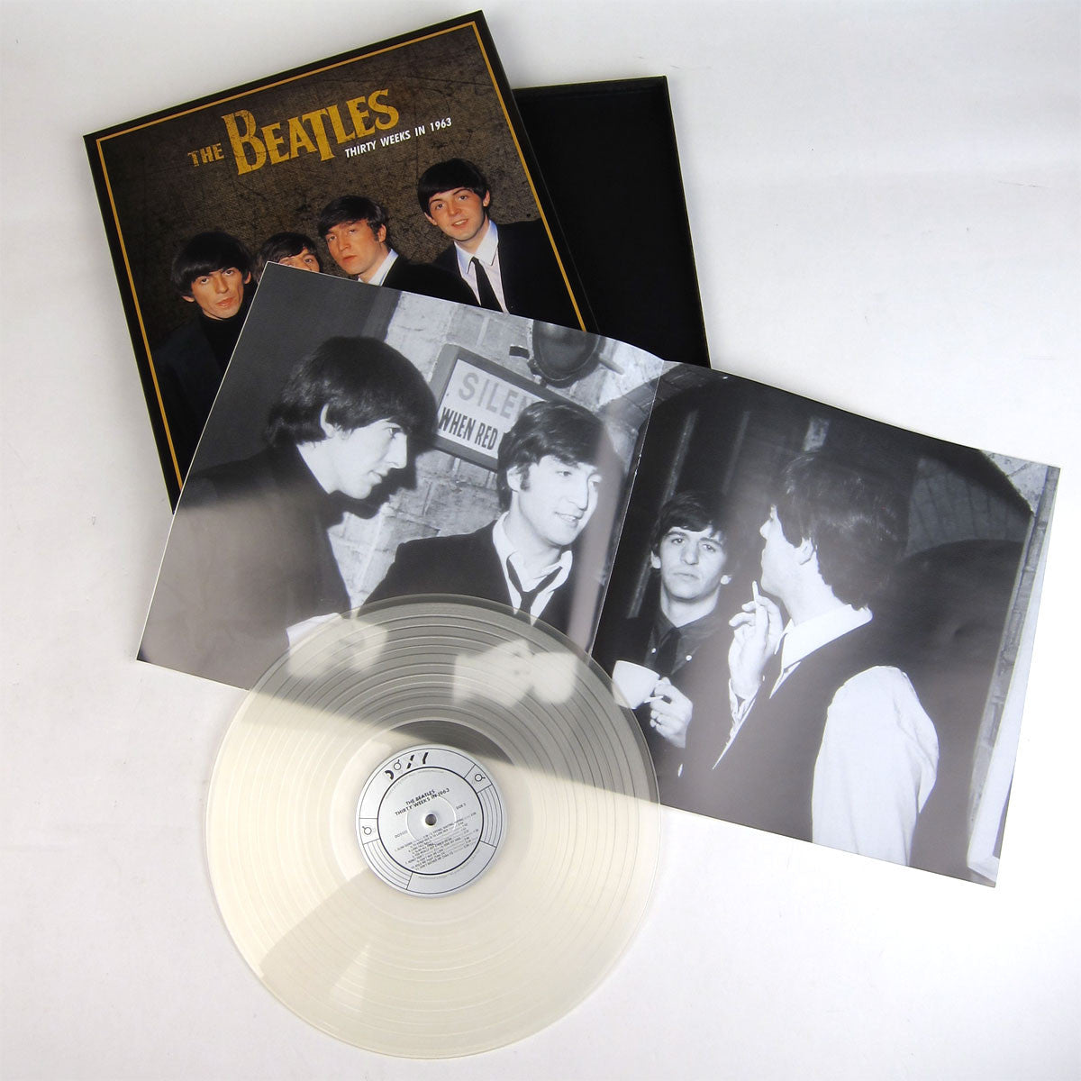 The Beatles: Thirty Weeks in 1963 (Audiophile Clear Vinyl) Vinyl LP Boxset laydown