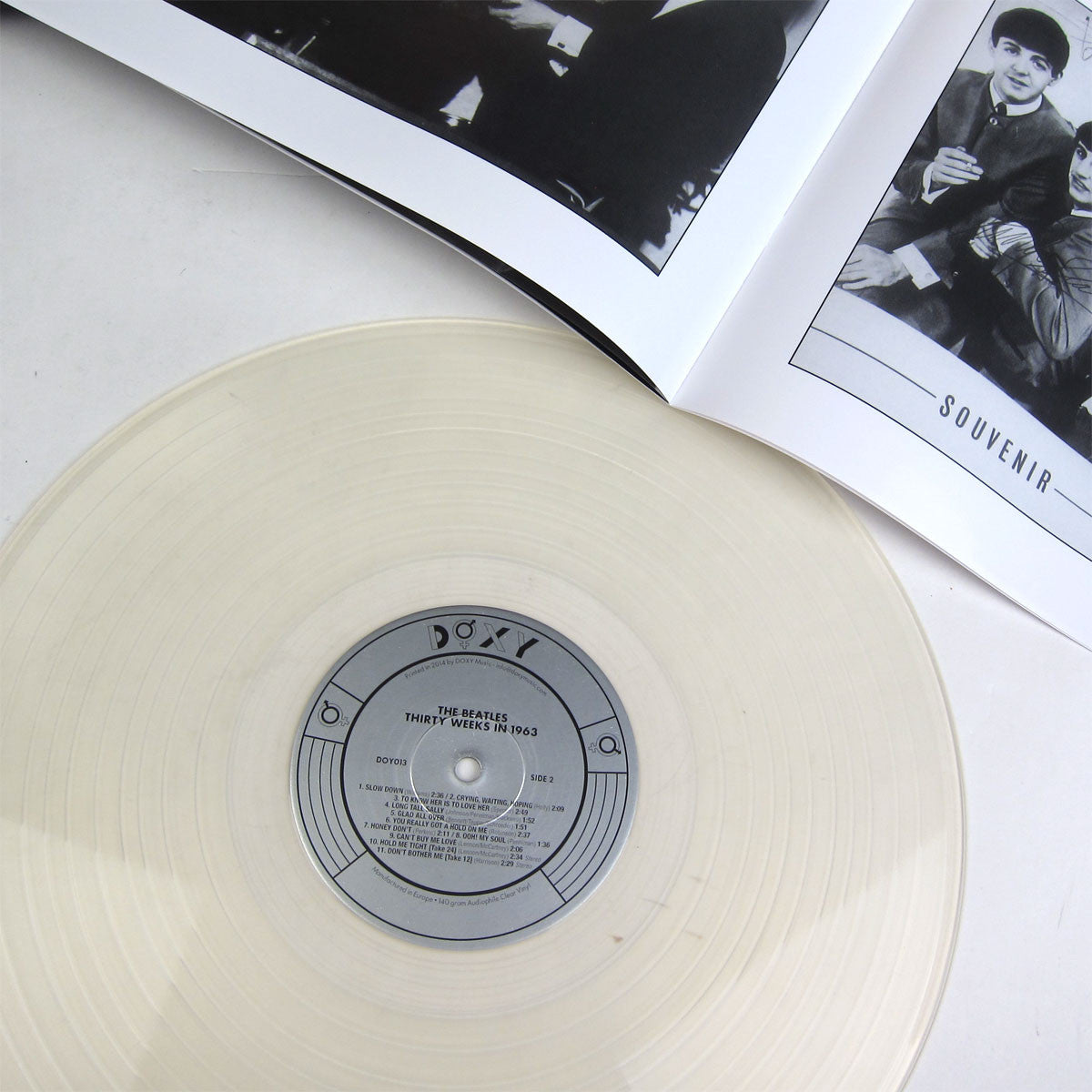 The Beatles: Thirty Weeks in 1963 (Audiophile Clear Vinyl) Vinyl LP Boxset detail