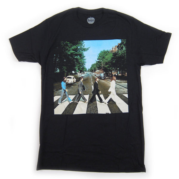 The Beatles: Abbey Road Shirt - Black
