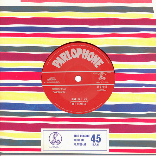 The Beatles: Love Me Do 7""