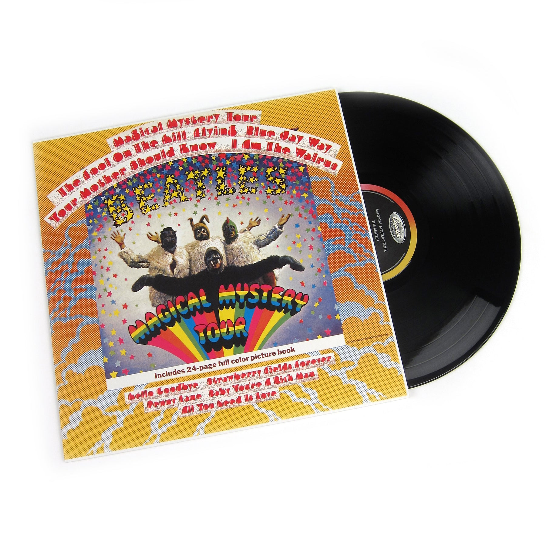 The Beatles Magical Mystery Tour Vinyl In Mono 180g