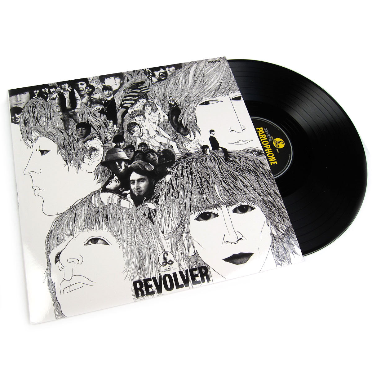 The Beatles: Revolver in Mono (180g) Vinyl LP
