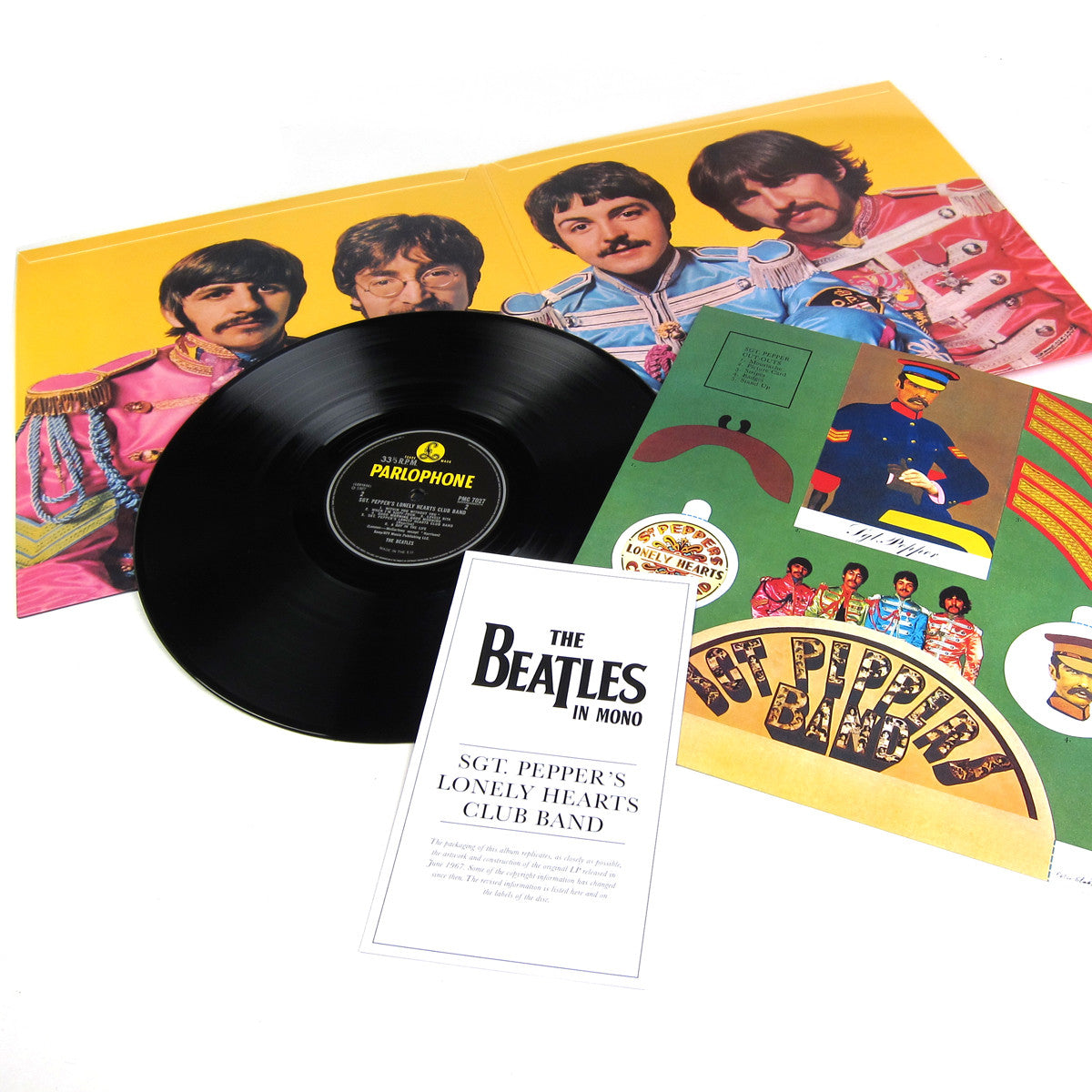 The Beatles: Sgt. Pepper's Lonely Heart Club Band in Mono (180g) Vinyl LP detail
