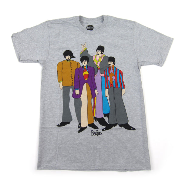 The Beatles: Submarine Shirt - Heather Grey