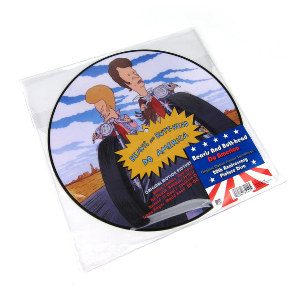 Beavis And Butt-Head: Beavis And Butt-Head Do America Soundtrack (Pic Disc) Vinyl LP
