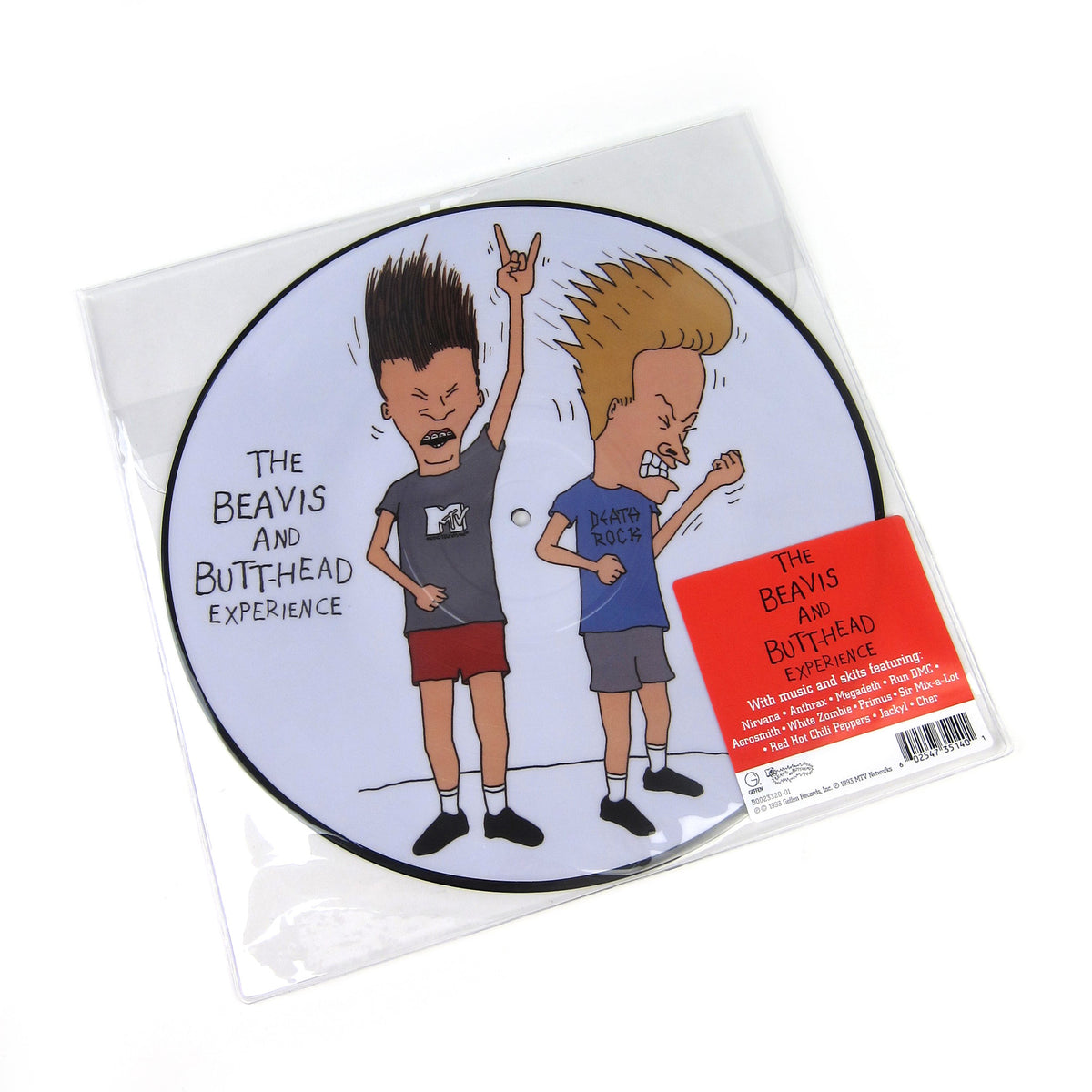 Beavis And Butt-Head: The Beavis And Butt-Head Experience (Pic Disc) Vinyl LP
