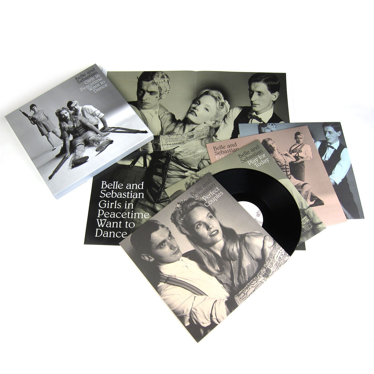 Belle & Sebastian: Girls In Peacetime Want To Dance (Free MP3) Vinyl 4LP Boxset detail