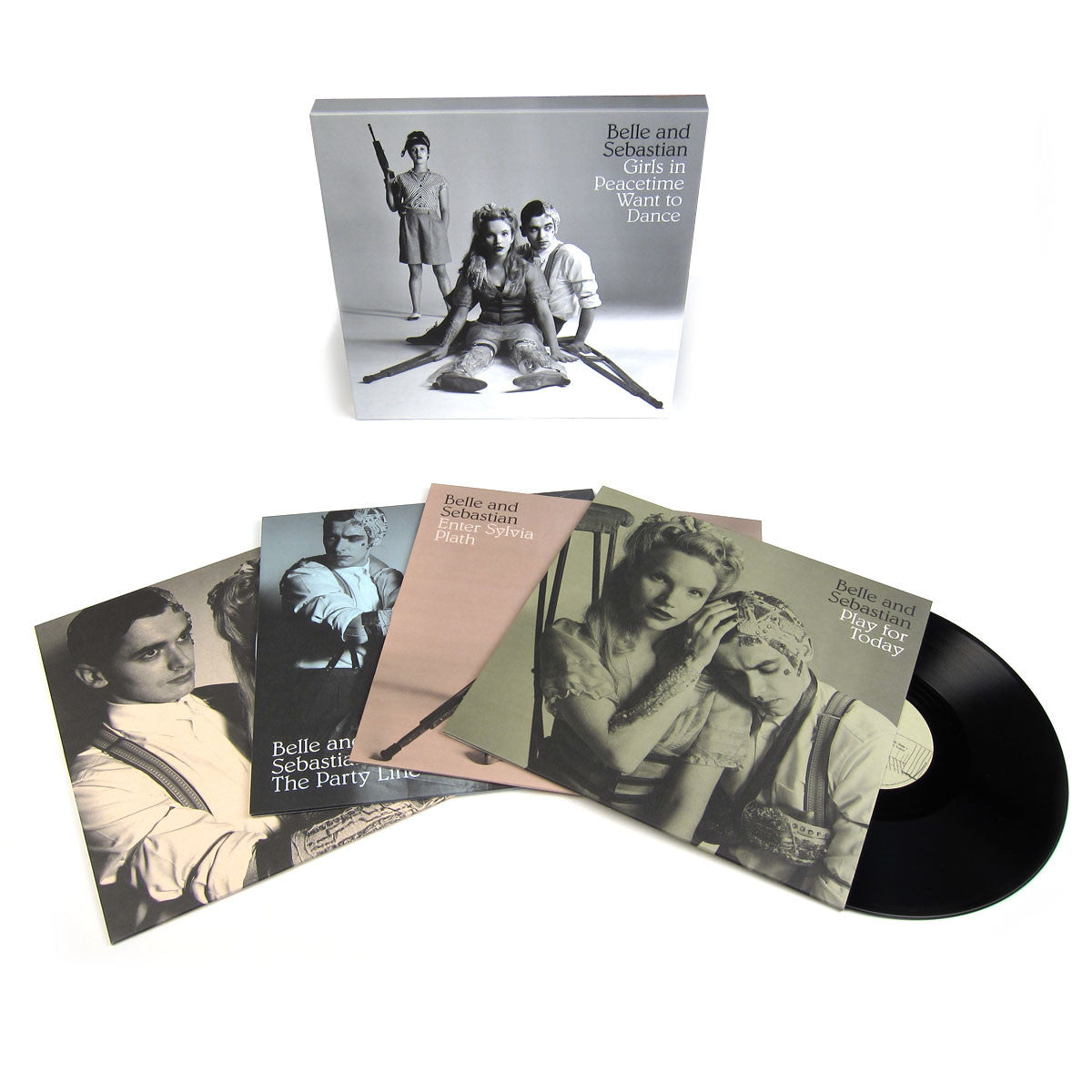 Belle & Sebastian: Girls In Peacetime Want To Dance (Free MP3) Vinyl 4LP Boxset
