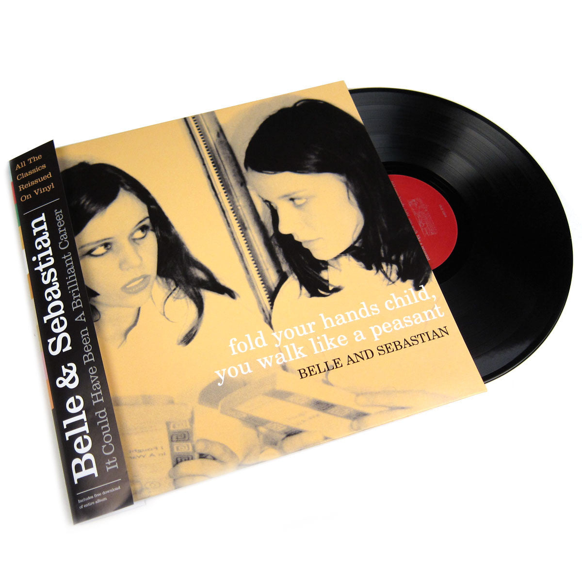 Belle & Sebastian: Fold Your Hands Child You Walk Like A Peasant (Free MP3) Vinyl LP
