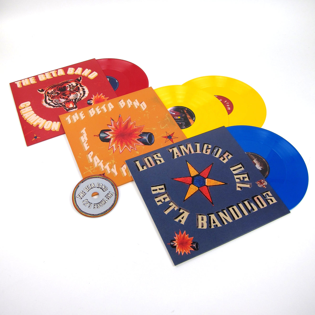 The Beta Band: The Three EP's (Colored Vinyl) Vinyl 4LP+CD Boxset