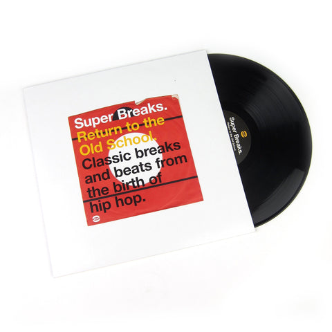 BGP Records: Super Breaks - Return To The Old School. Classic Breakbeats Vinyl 2LP