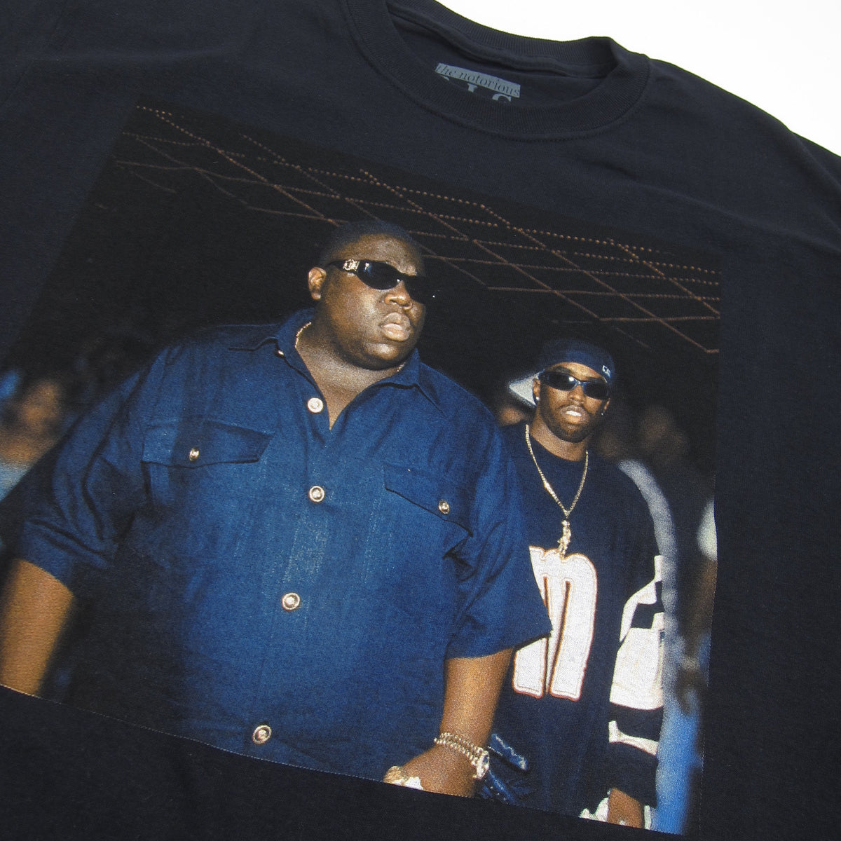 The Notorious B.I.G.: Biggie & Puff Club Shirt - Black