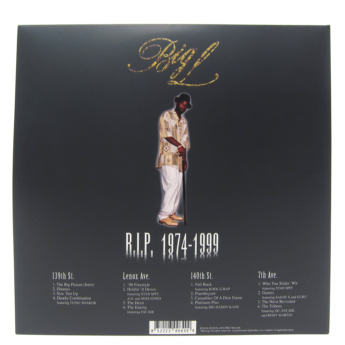 Big L: The Big Picture Deluxe Edition (Colored Vinyl) Vinyl 2LP