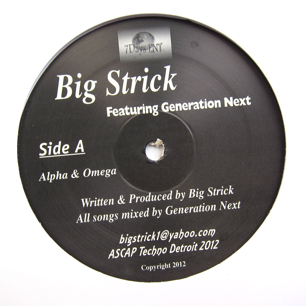 Big Strick Feat. Generation Next: Alpha & Omega 12""