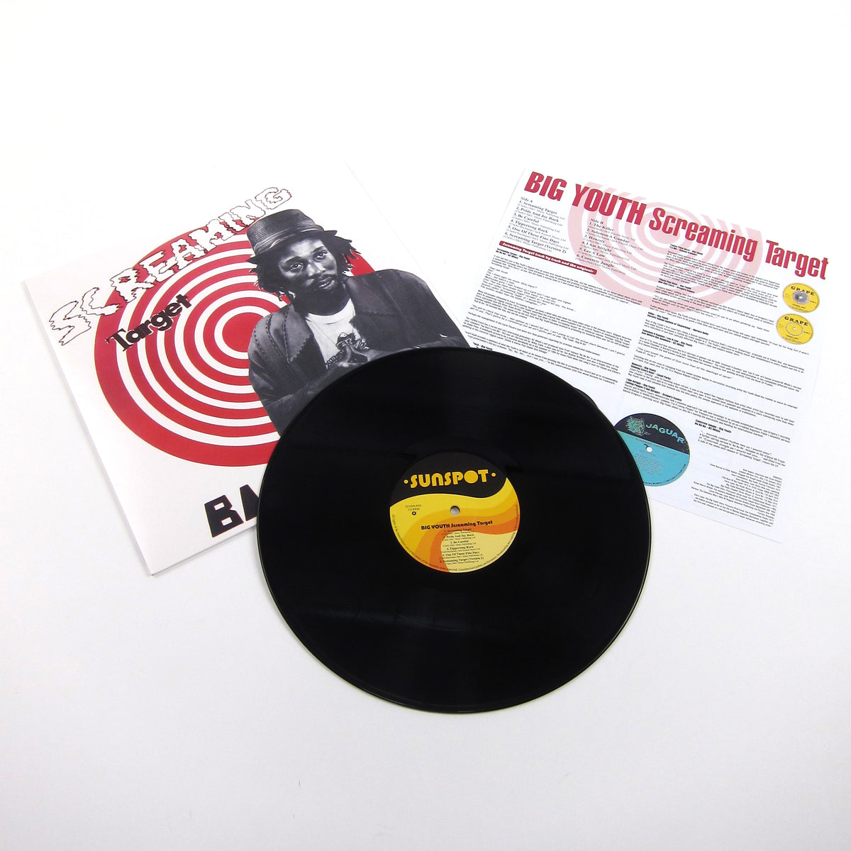 Big Youth: Screaming Target Vinyl LP