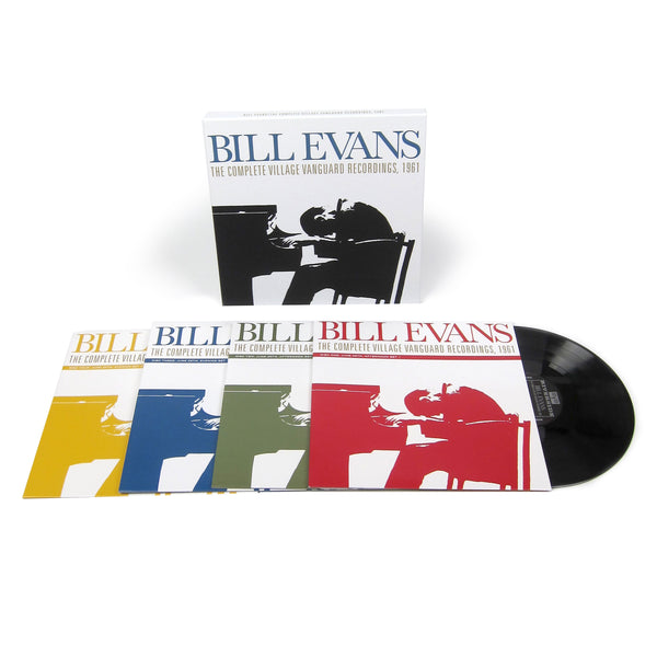 Bill Evans: The Complete Village Vanguard Recordings 1961 (180g) Vinyl 4LP Boxset