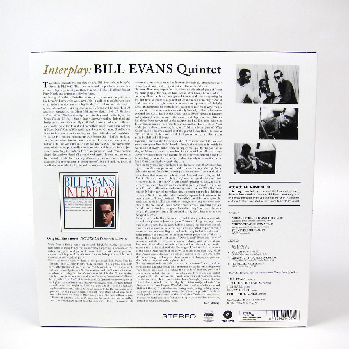 Bill Evans: Interplay (180g) Vinyl LP