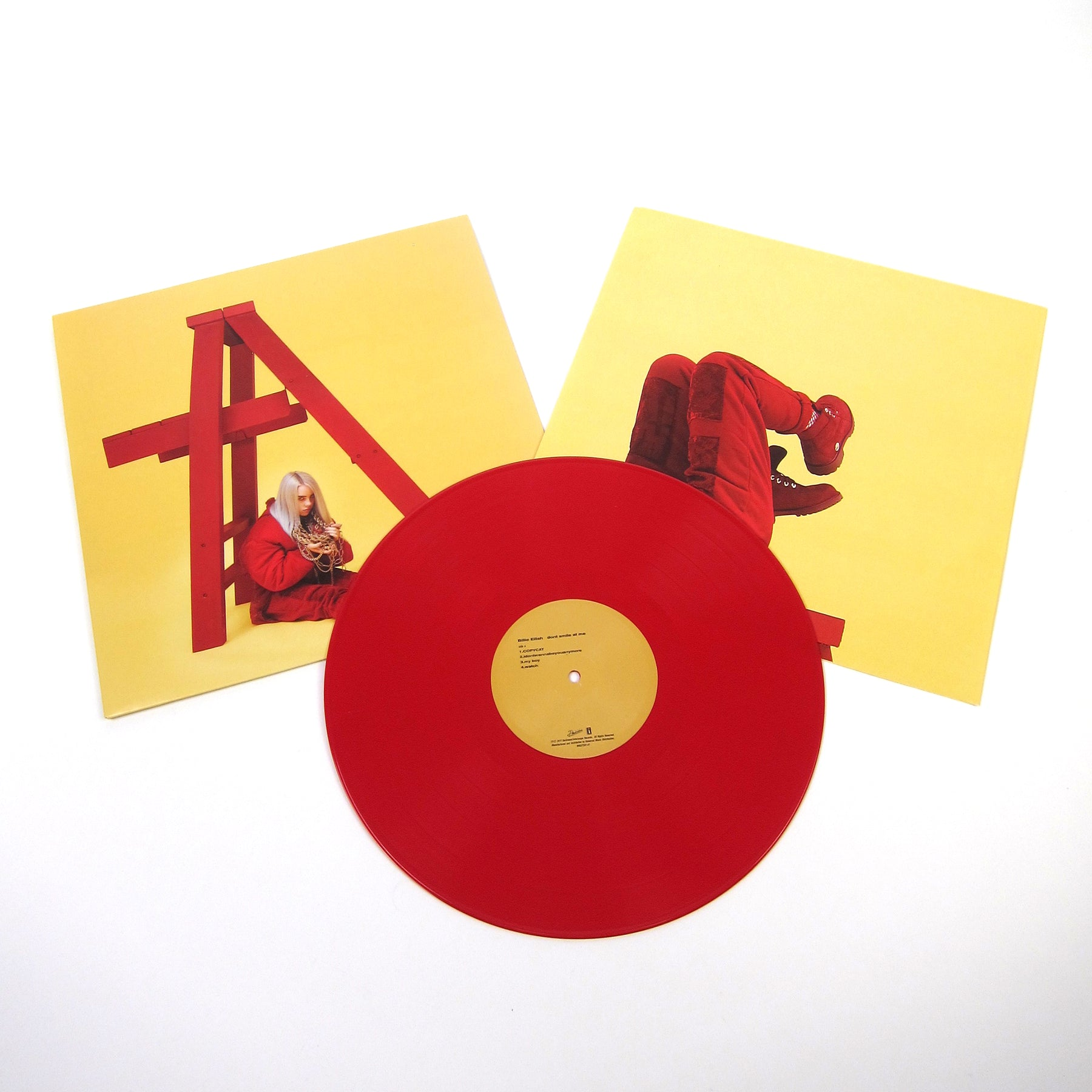 158151d5 Billie Eilish: dont smile at me (Opaque Red Vinyl) Vinyl LP ...