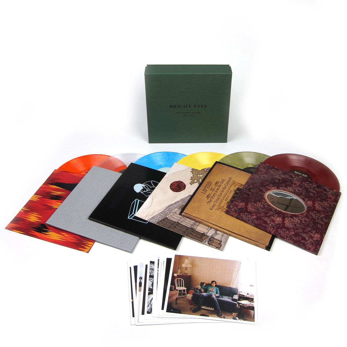 Bright Eyes: The Studio Albums 2000-2011 (Colored Vinyl) Vinyl 10LP Boxset