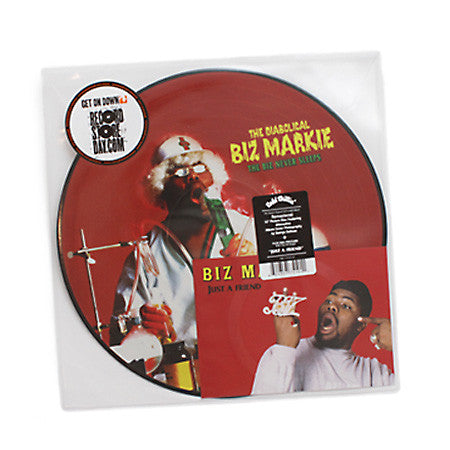 Biz Markie: The Biz Never Sleeps Deluxe Edition Pic Disc Vinyl LP (Record Store Day)