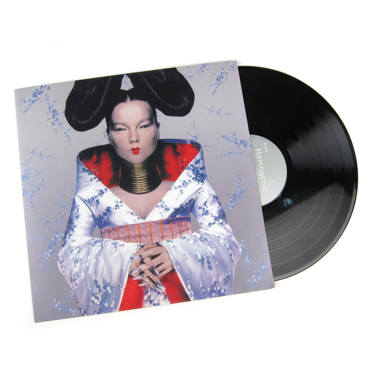 Bjork: 180g Vinyl LP Album Pack (Debut, Post, Homogenic, Vespertine)