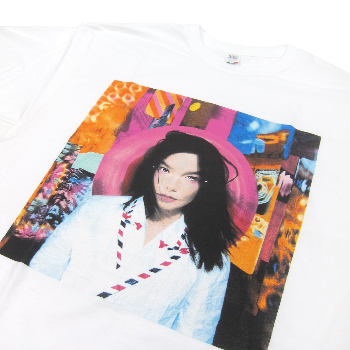 Bjork: Post Shirt - White