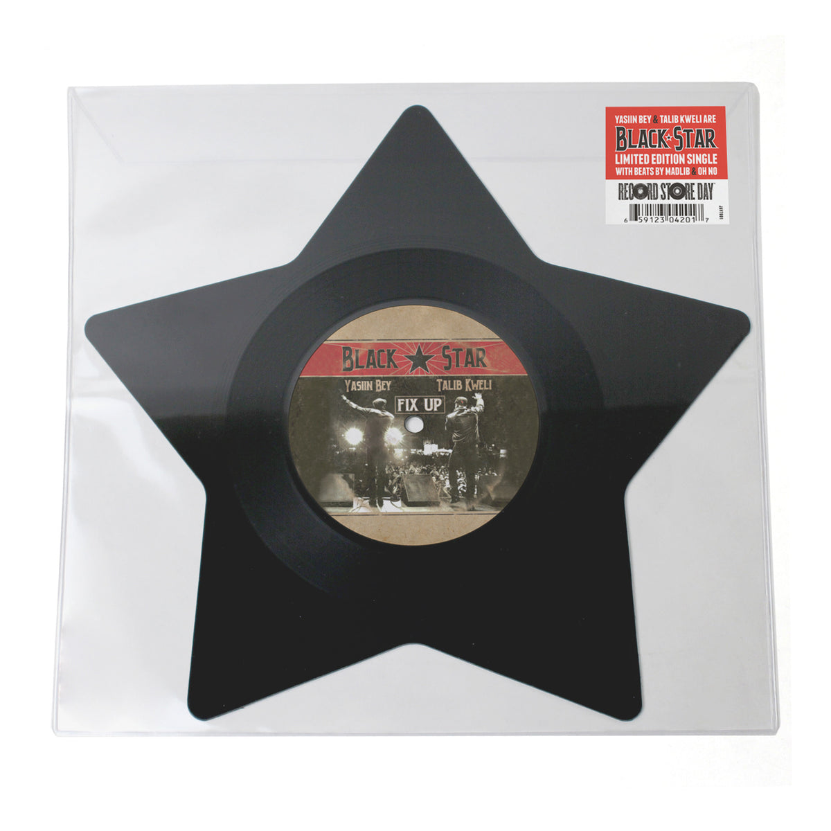 "Black Star (Mos Def & Talib Kweli): Fix Up /  You Already Knew (Star-Shaped) Vinyl 7"" (Record Store Day)"