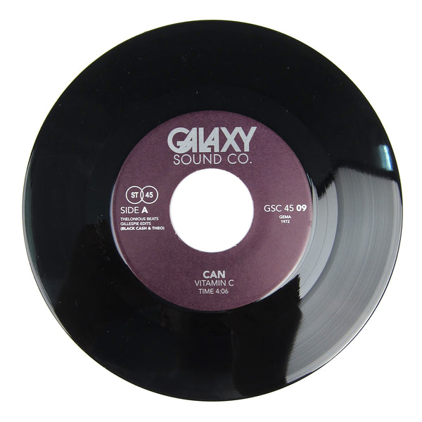 Blackcash & Theo: Galaxy Vol.9 (Can Vitamin C, Silver Apples) Vinyl 7""