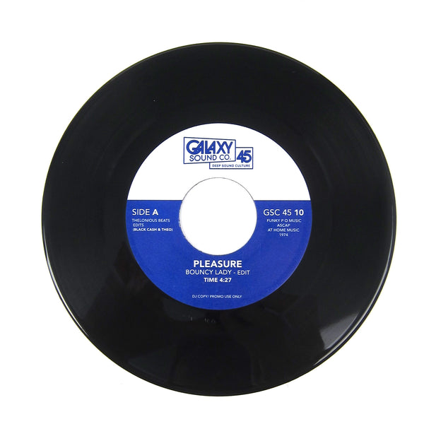 Blackcash & Theo: Galaxy Vol.10 (Pleasure, The Whatnauts) Vinyl 7""
