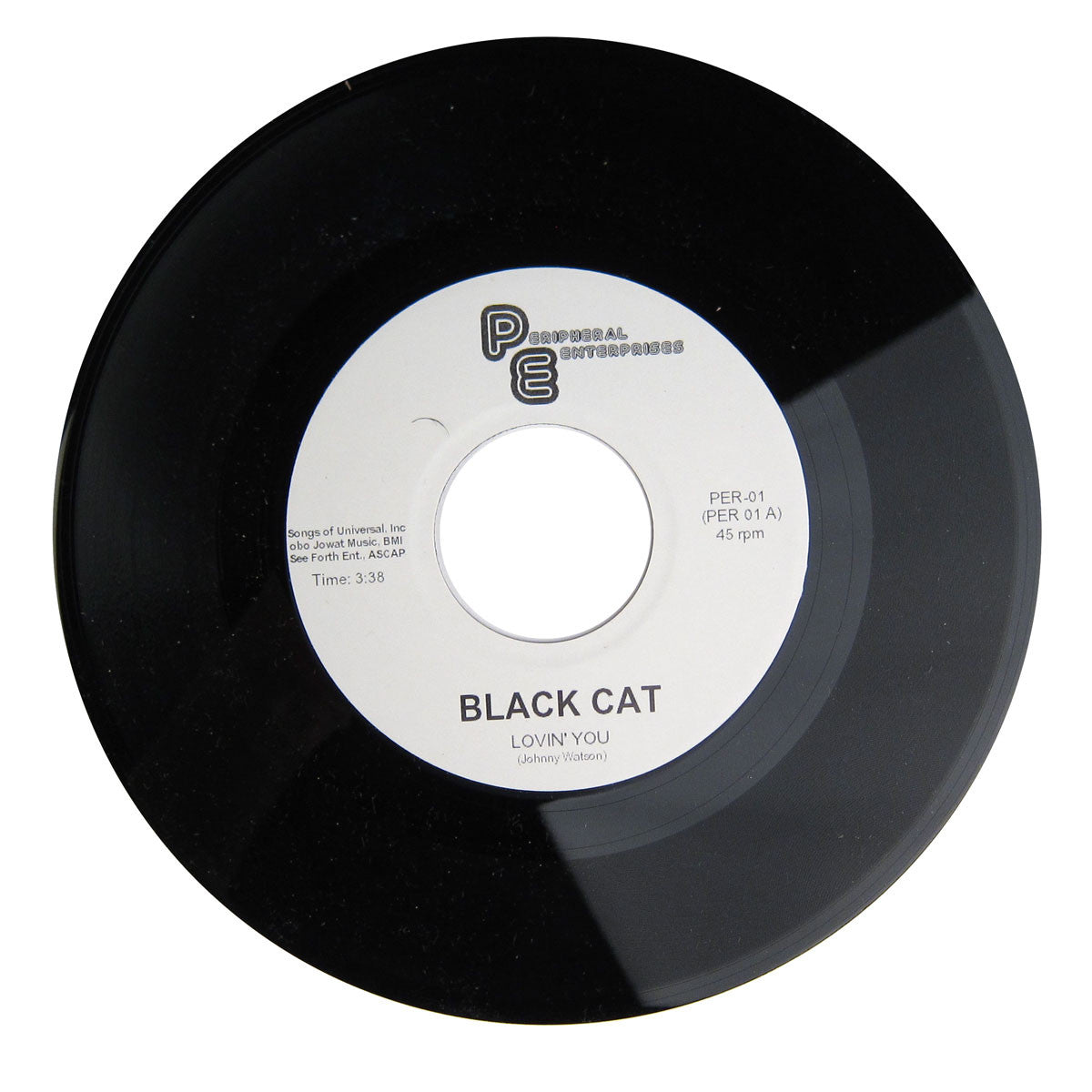 Black Cat: Lovin' You / Kingston Cardova Vinyl 7""