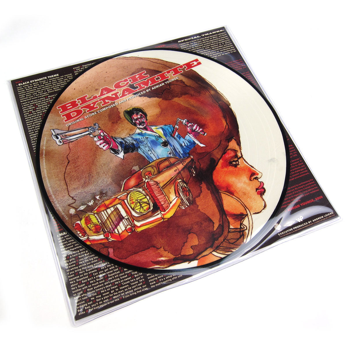 Adrian Younge: Black Dynamite Original Soundtrack Picture Disc Vinyl LP