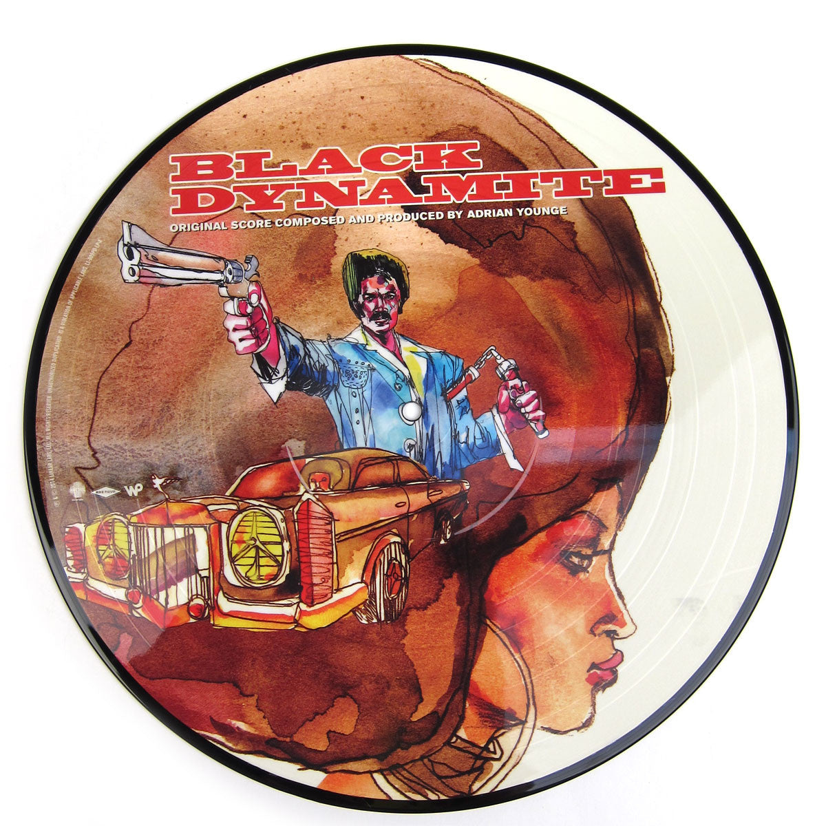 Adrian Younge: Black Dynamite Original Soundtrack Picture Disc Vinyl LP pic