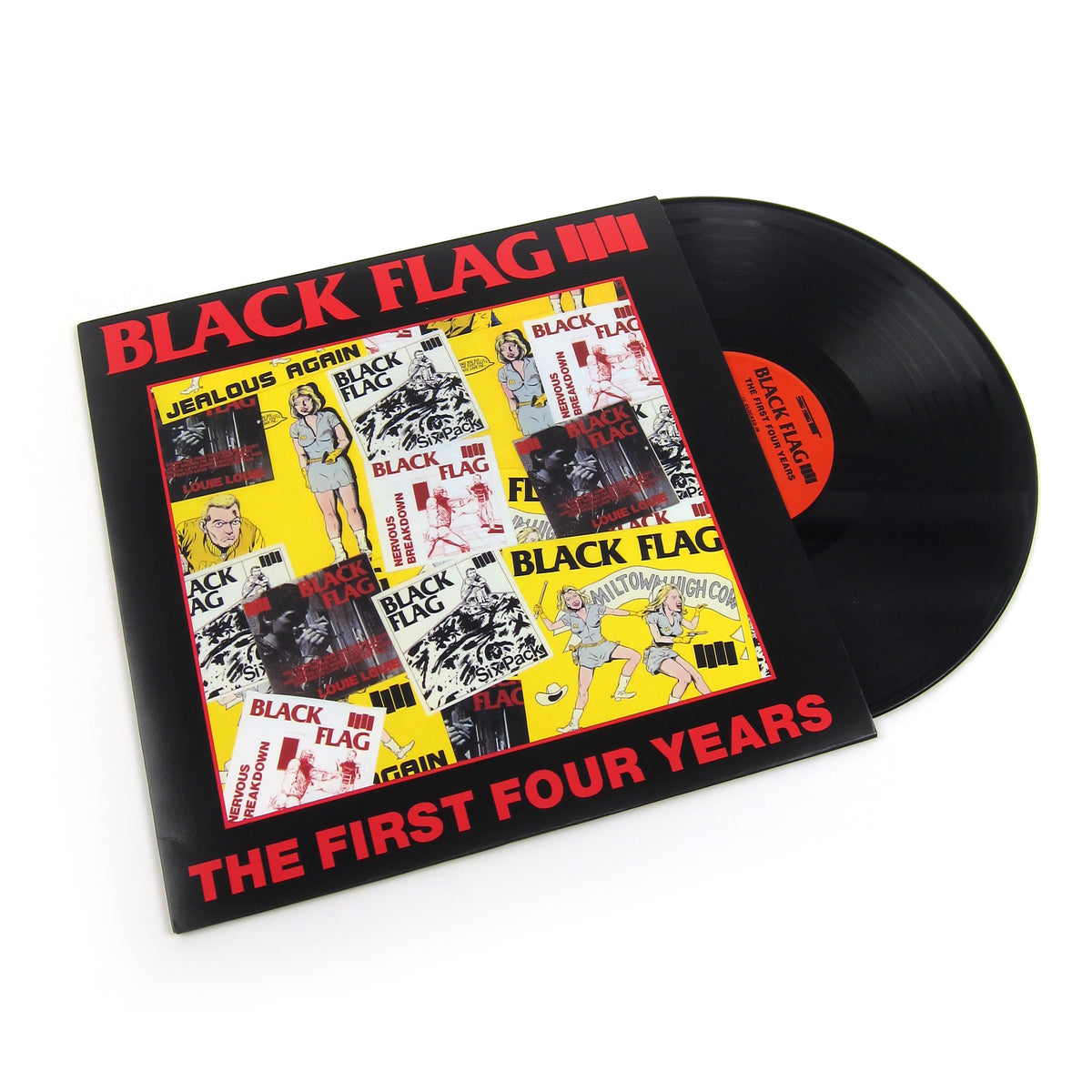 Black Flag: The First Four Years Vinyl LP