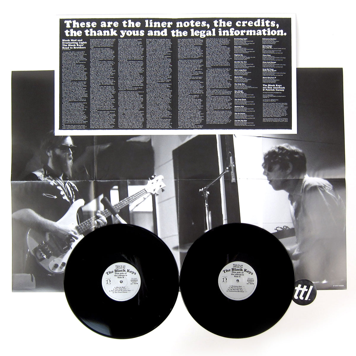 The Black Keys: Brothers - 10th Anniversary Edition Vinyl