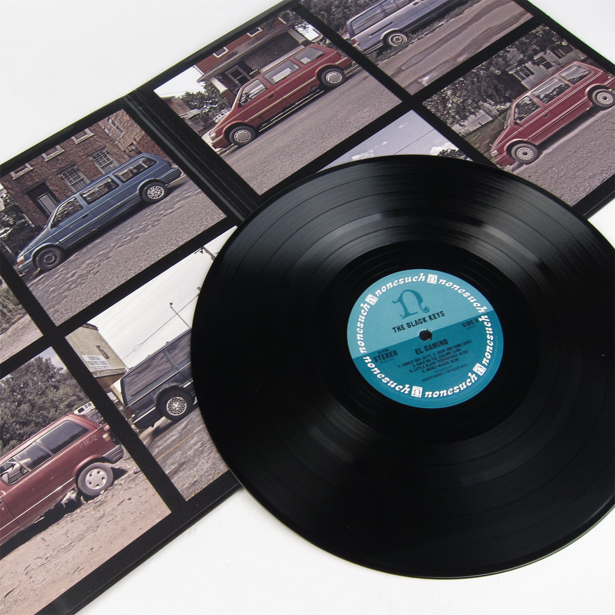The Black Keys: El Camino (w/ FREE CD + Poster) 2LP detail