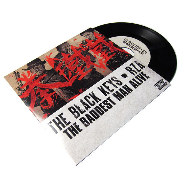 Black Keys & RZA: The Baddest Man Alive 7""
