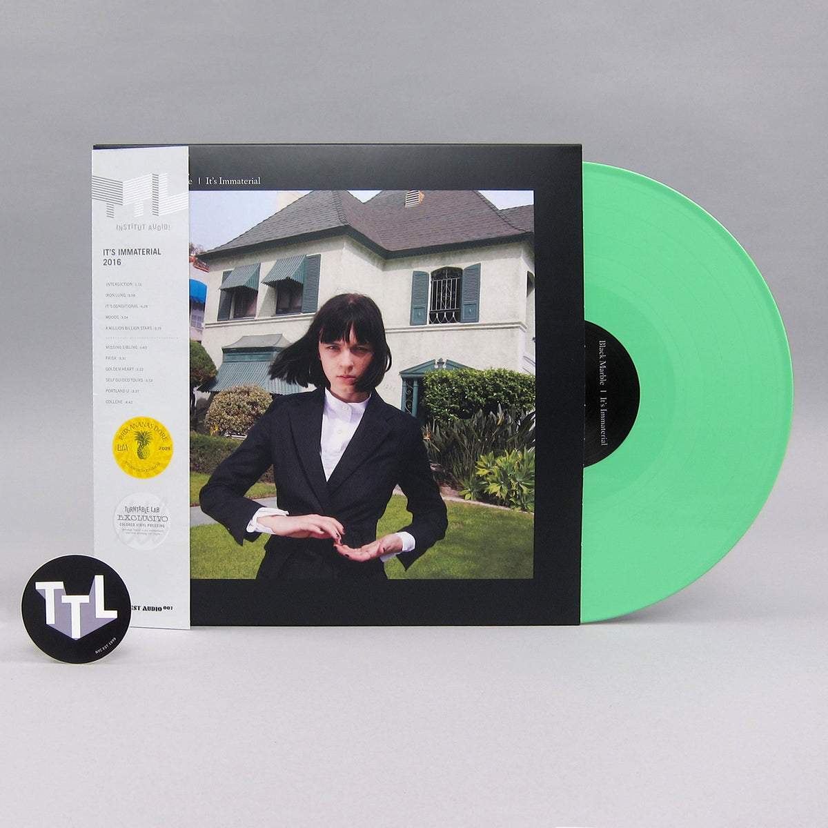 Black Marble: It's Immaterial (Mint Green Colored Vinyl) Vinyl LP - Turntable Lab Exclusive - LIMIT 2 PER CUSTOMER