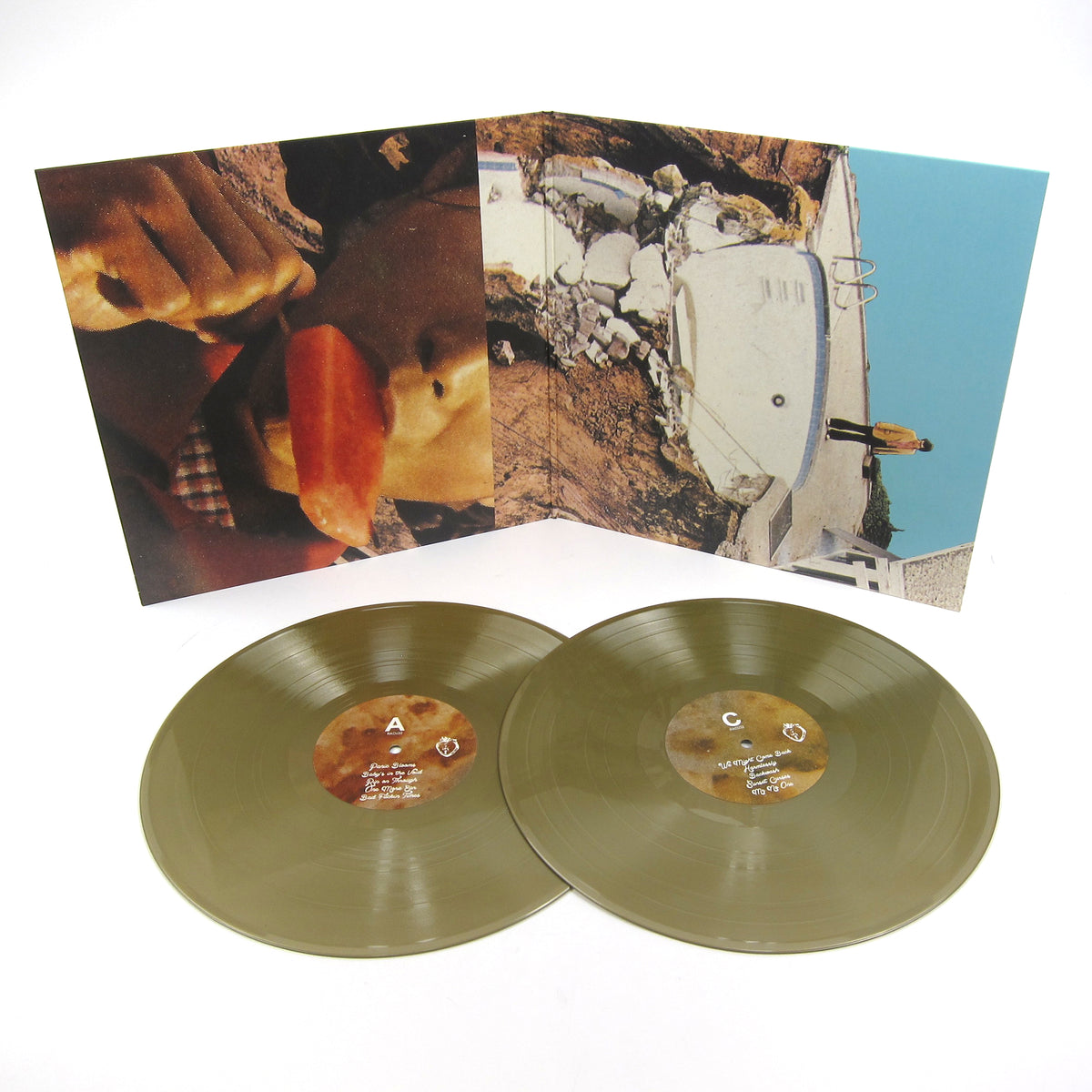 Black Moth Super Rainbow: Panic Blooms (Colored Vinyl) Vinyl 2LP