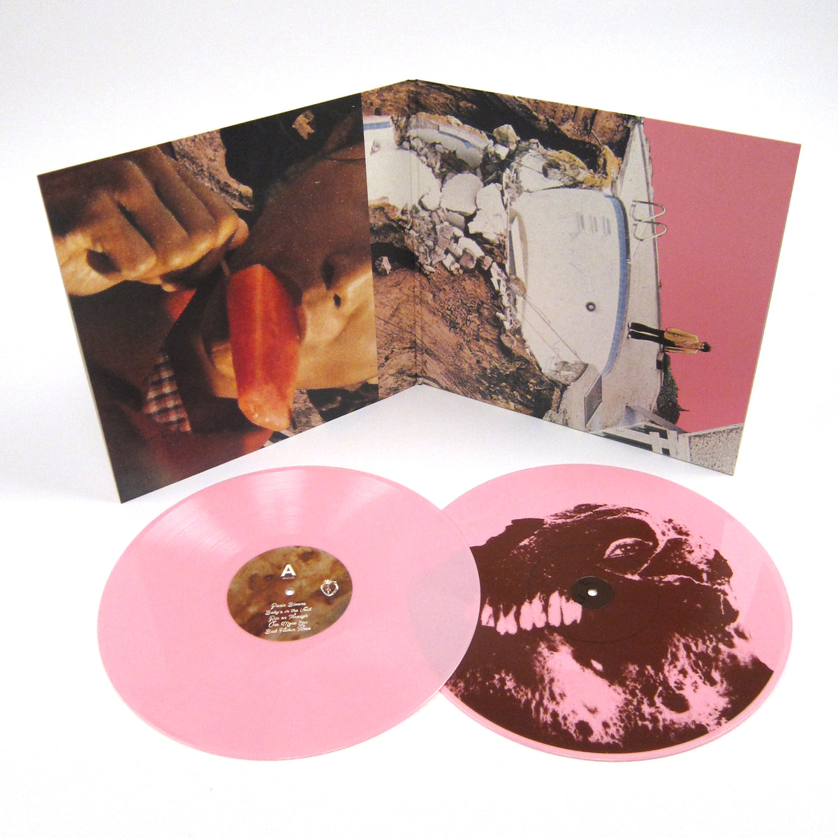 Black Moth Super Rainbow: Panic Blooms (Pink Colored Vinyl) Vinyl 2LP